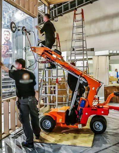 Glasroboter Smartlift hilft bei der Fenstermontage
