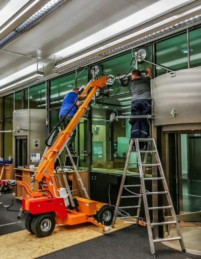 Glaslifter Smartlift Fenstermontage