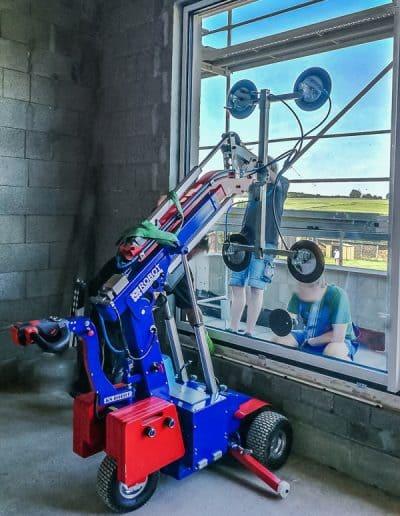 Glaslifter KS Robot Verglasungsarbeiten