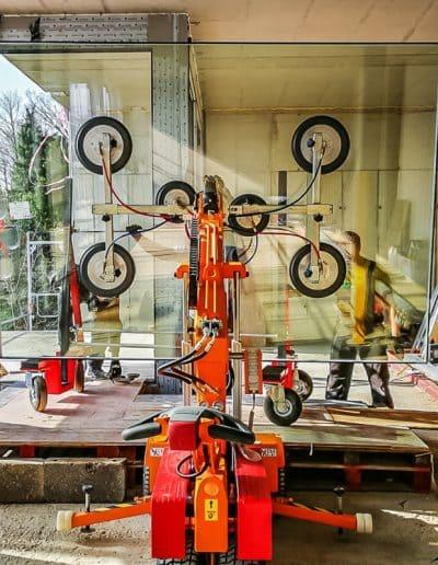 Glasroboter Smartlift- So wird die Glasinstallation zum Kinderspiel
